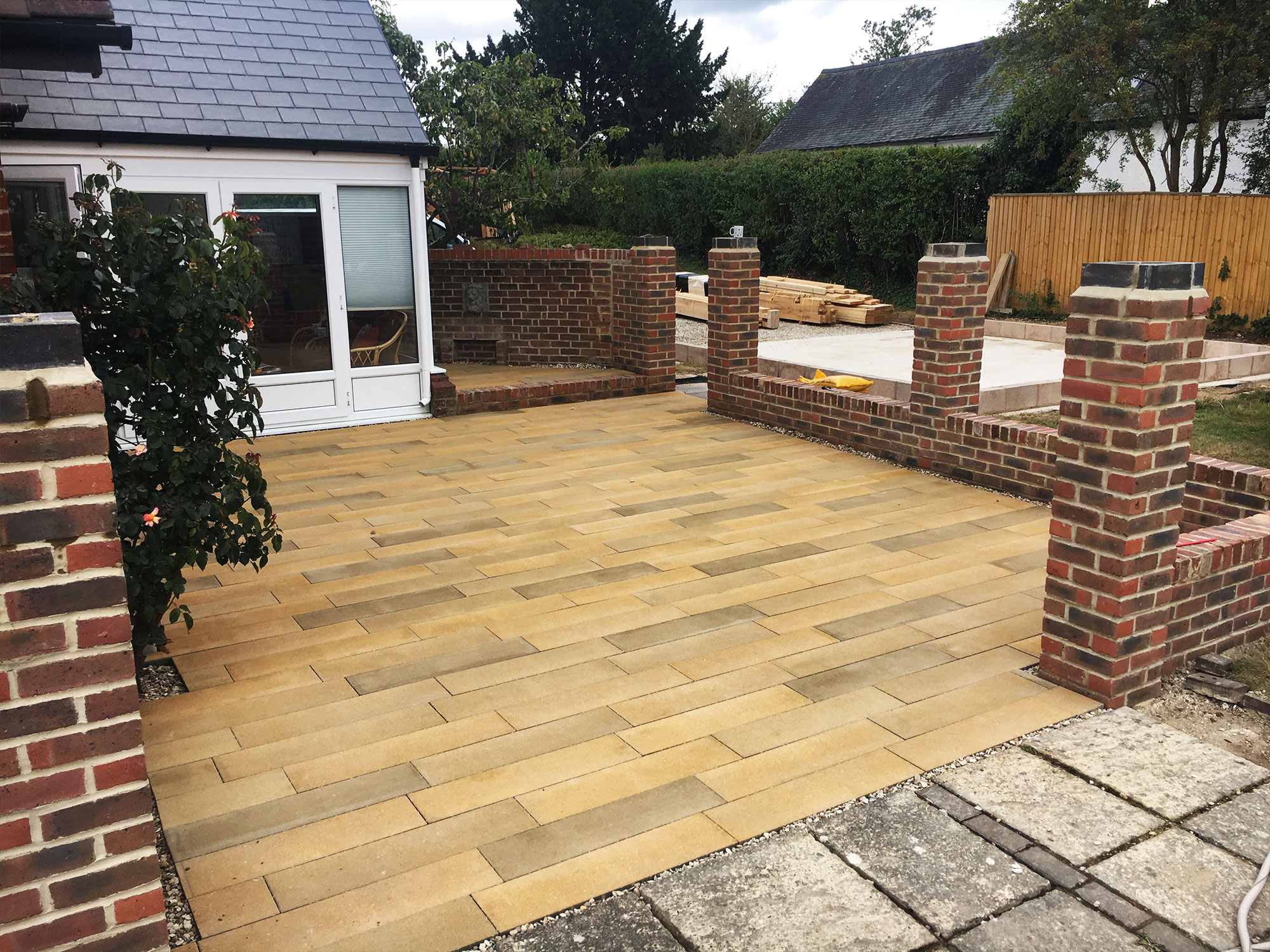 Landscaping - Paving