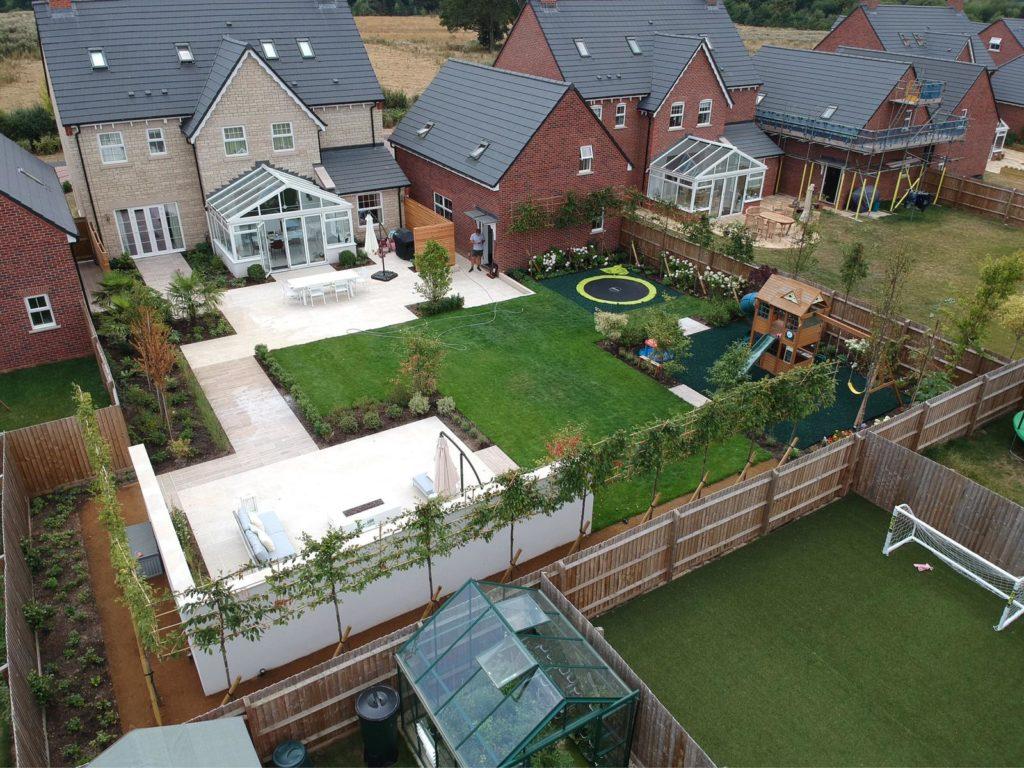 New Build Garden Makeover Thame Oxfordshire Jack Drewe Landscaping Maintenance